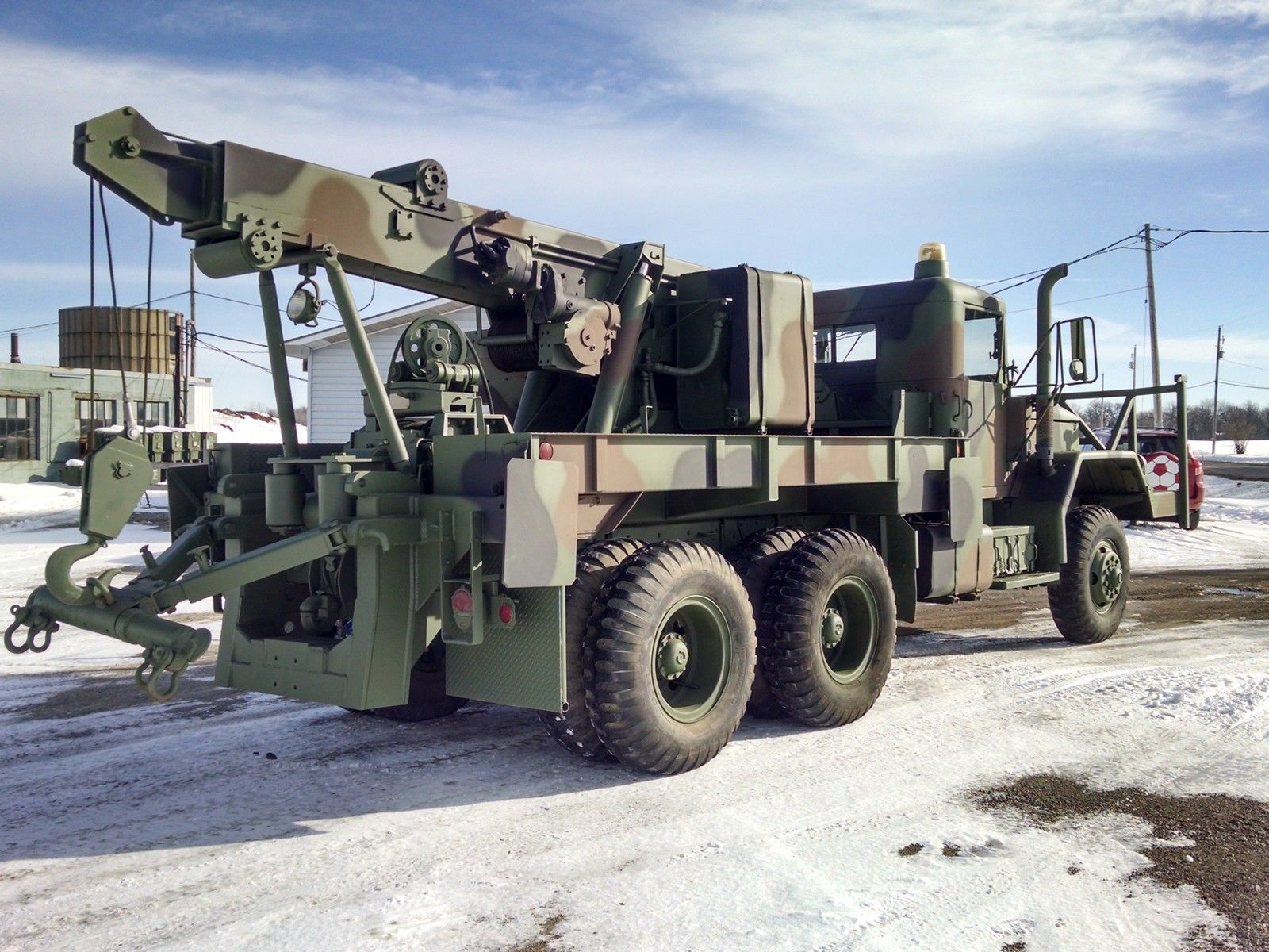 BangShift There s an M816 6x6 Recovery Vehicle for sale on eBay
