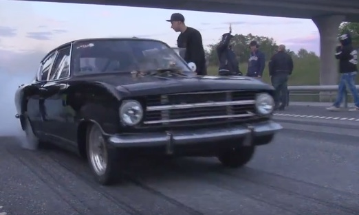 BangShift com This Small-Block Opel Kadett Is Ready For All Comers