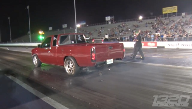 Kaboom! This Nissan's Differential Makes A Grand Exit On The Starting Line At TX2K16!