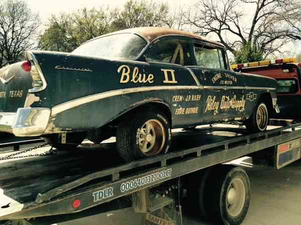 Bangshift Com Barn Find 1956 Chevy Gasser Stored And