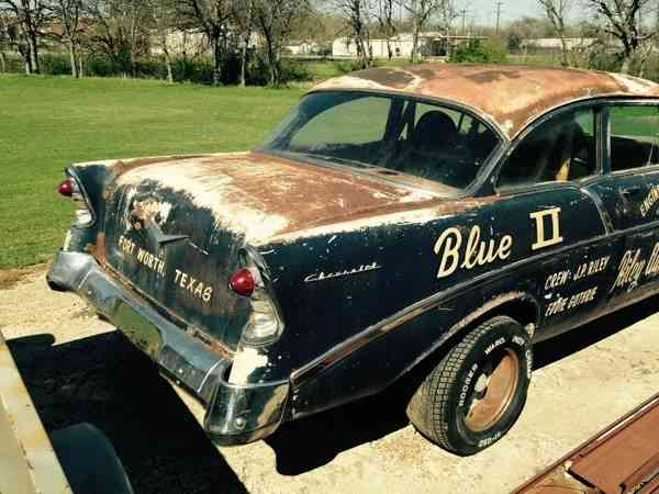 barn find 1956 chevy gasser stored and forgotten but now found. Black Bedroom Furniture Sets. Home Design Ideas