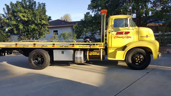Rollback Meets 1956 Ford C600 Coe The Best Of Both