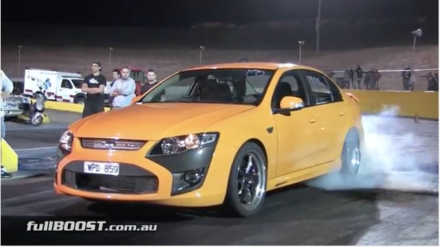 Watch As This FPV F6 Blasts Deep Into The Nines – Six Cylinder, Six-Speed Auto And Street Driven!