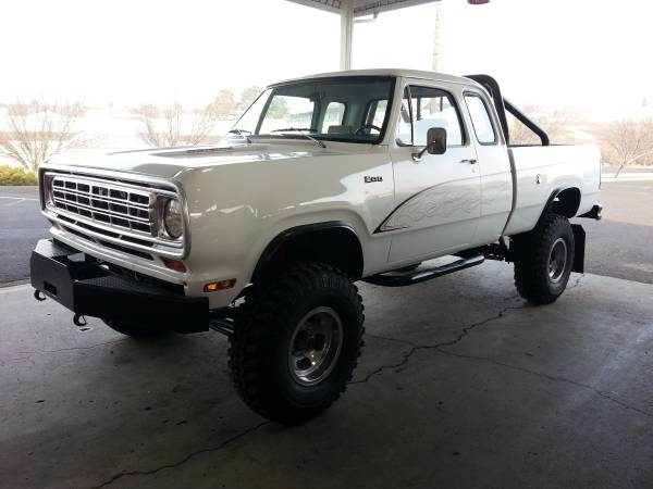 craigslist find this 1974 dodge power wagon is too big for the city and too nice. Black Bedroom Furniture Sets. Home Design Ideas