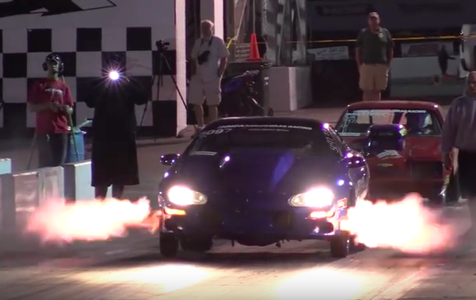 The Monday Shift: Watch And Ride In Ray Bulach's 8-second T-56 Equipped Camaro
