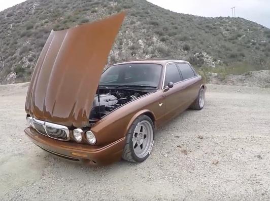 The Smoking Tire Checks Out A 575 Horsepower, Built To The Nines Jaguar XJ8L!