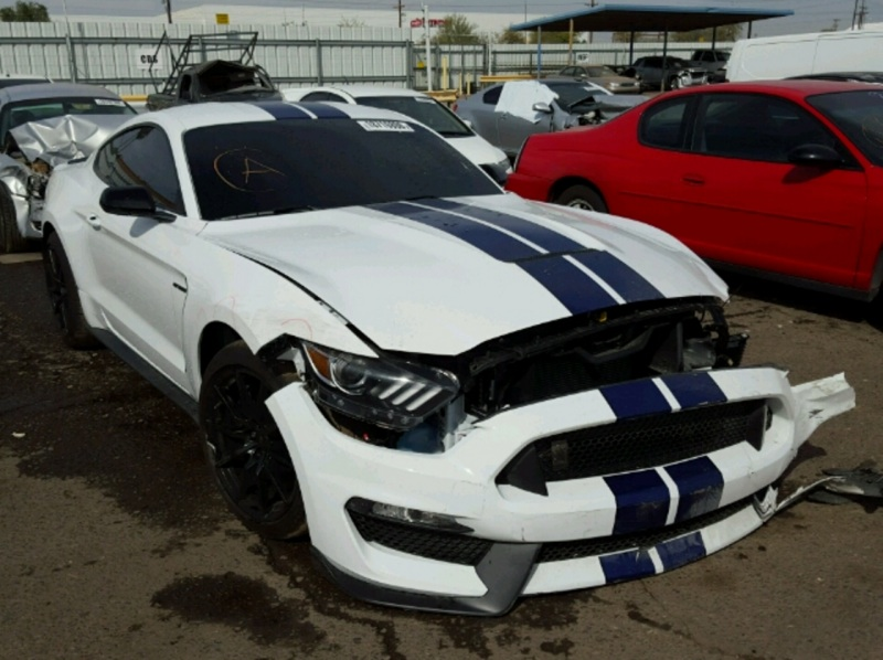 Bangshift Com Copart Cadaver A New Shelby Gt350 And It S