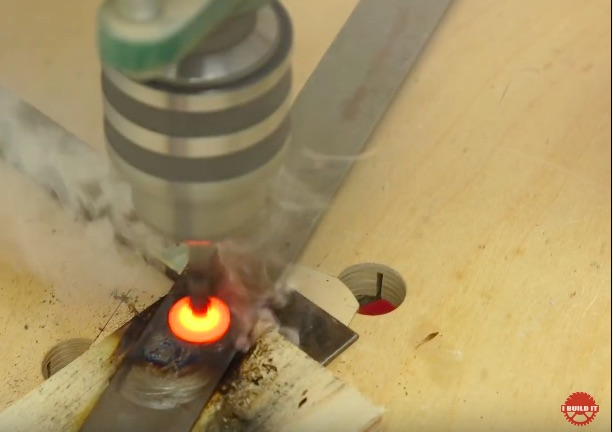 Can You Friction Weld With Your Home Drill Press? If The Answer Was Kind Of Would You Be Interested?