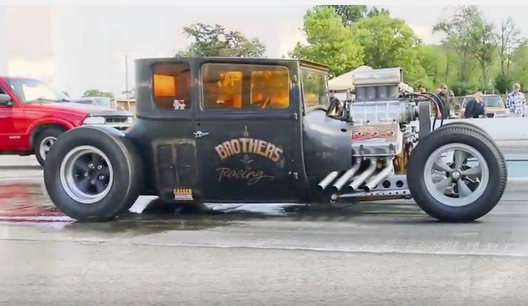 This Blown Hemi-powered 1927 Ford Has A Four Speed And Runs 9s! So Awesome!