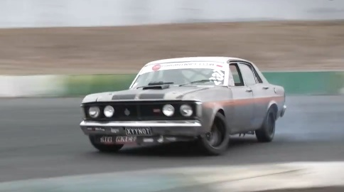 HERETIC! This Ford Falcon XY Drifter Is Rough, Ready, And Powered By…You Guessed It…