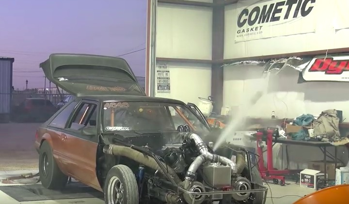 Rough Day On The Dyno: Watch This Turbocharged Mustang Blow Up In Fine Fashion