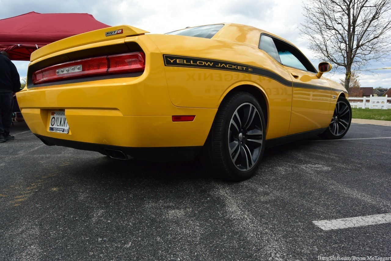 This Dodge Challenger Yellow Jacket Looks Sedate, But This OSTDyno-Built 1,000 Horsepower Turbo Monster Can Sting You!