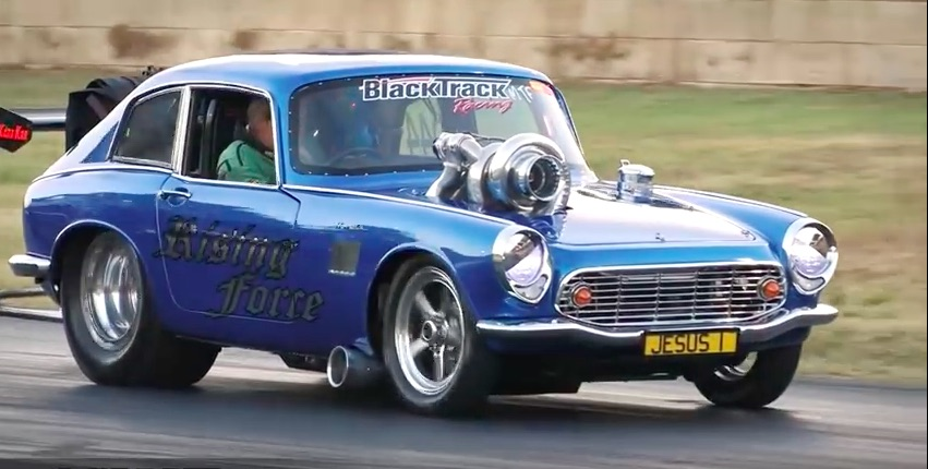 This 1,000hp Honda S600 Drag Machine Is Minuscule And Massively Powerful – Neat Car!