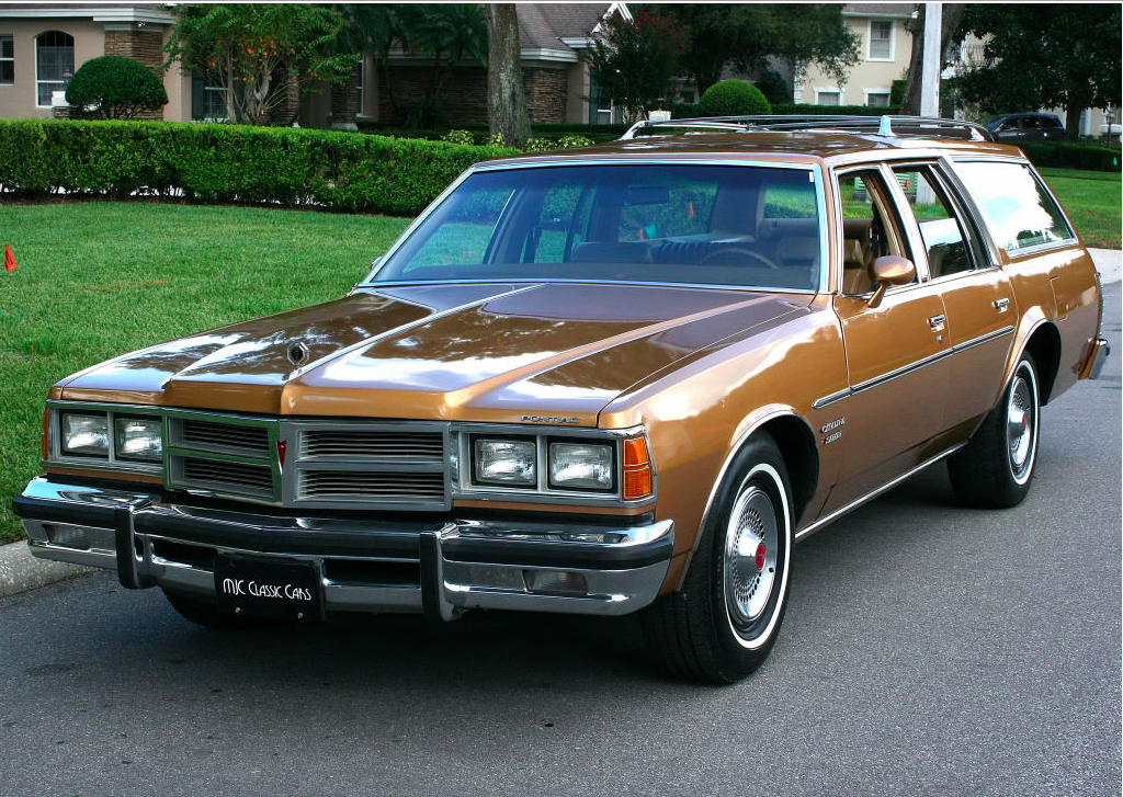 Ebay Find This 1977 Pontiac Catalina Safari Station Wagon Is Perfect And 400 Powered Sleeper Potential