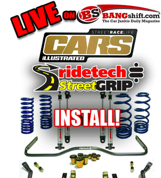 LIVE WRENCHING! Watch The LIVE GM A-Body RideTech Street Grip Install