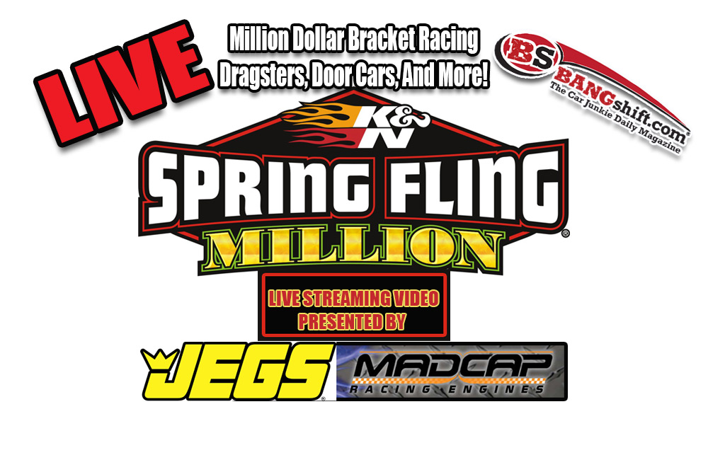 Watch The Spring Fling Million Bracket Race In Las Vegas Right Here Friday At 10 AM Pacific!