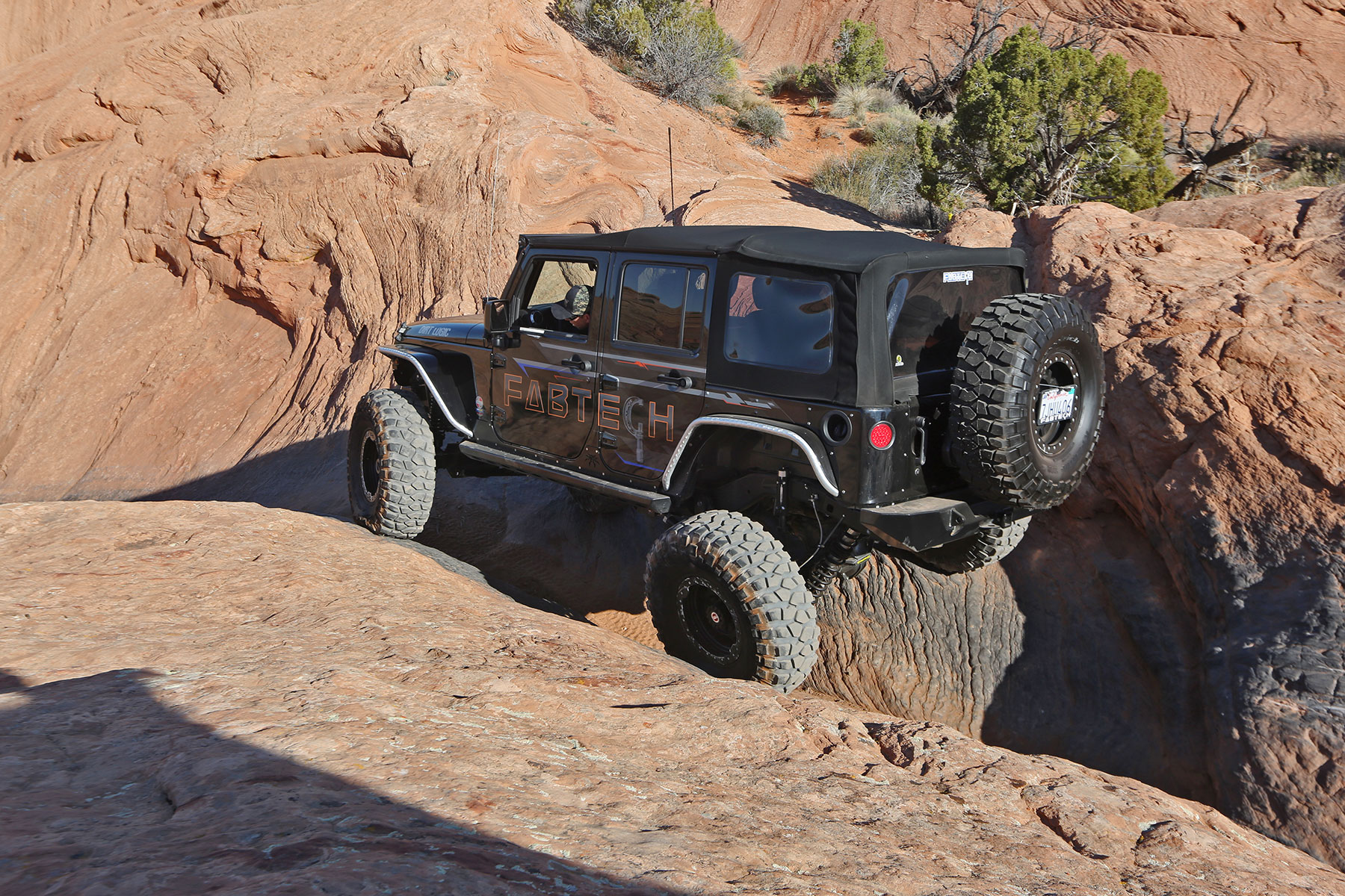 The Gang From Fabtech Share Their Moab Easter Jeep Safari 2016 ...
