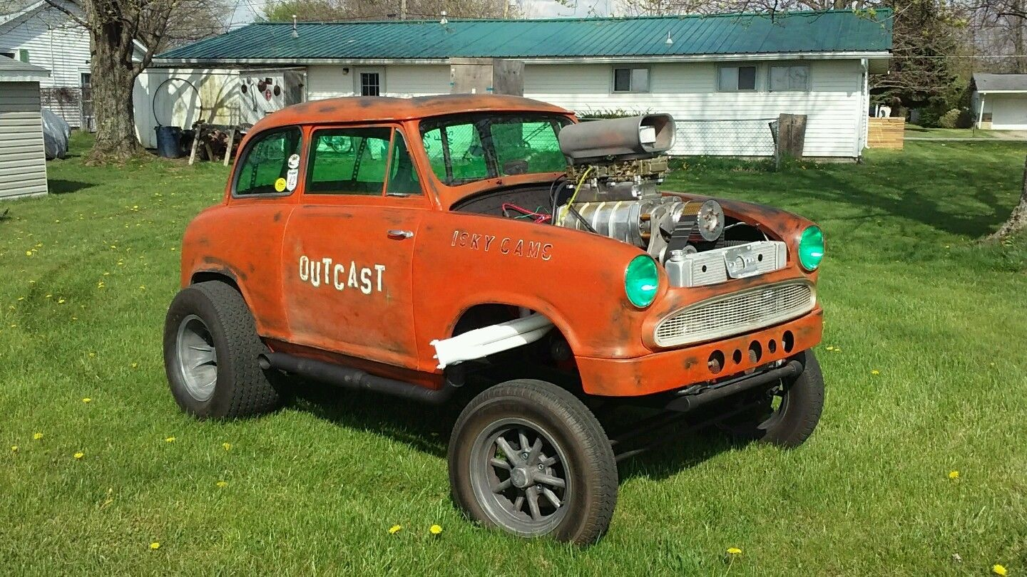 This 1960 Lloyd Gasser Has A Blown Small Block, No Wheelbase, and The Tiniest Steering Wheel Ever