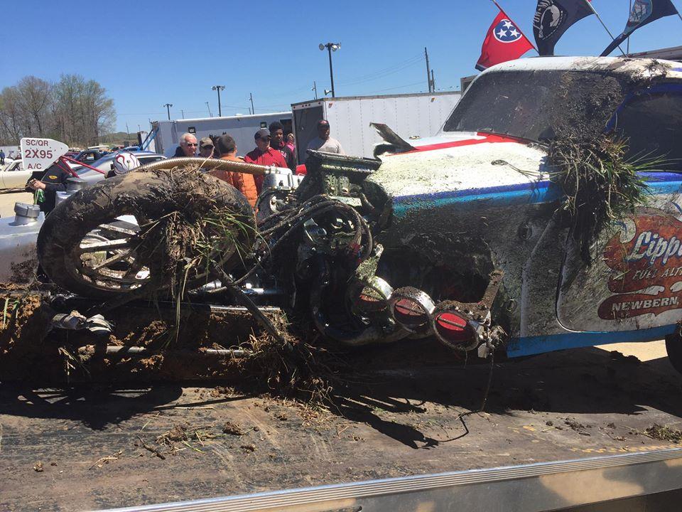 BangShift.com Wild Rat injected fuel altered crash