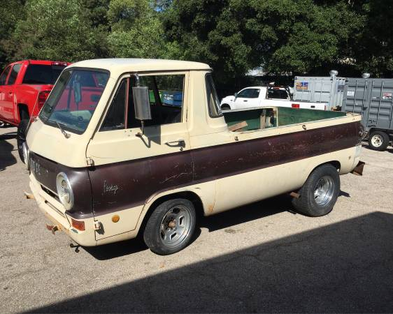 build your own little red wagon with this 1969 dodge a100 truck. Black Bedroom Furniture Sets. Home Design Ideas