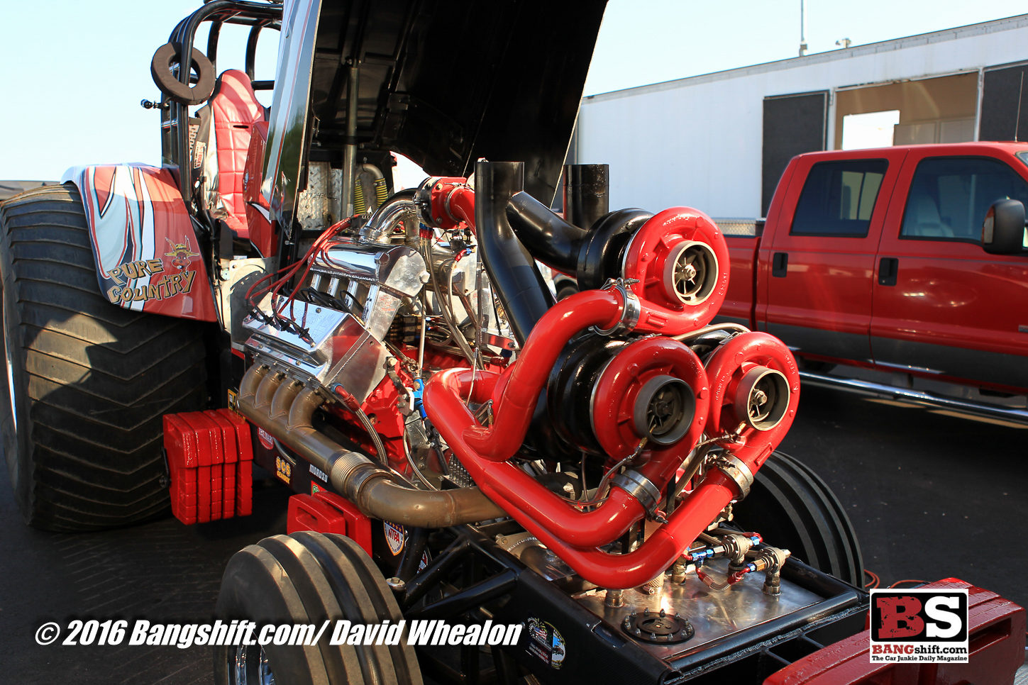 Super Stock Tractor Pulling Engines : Bangshift mule city