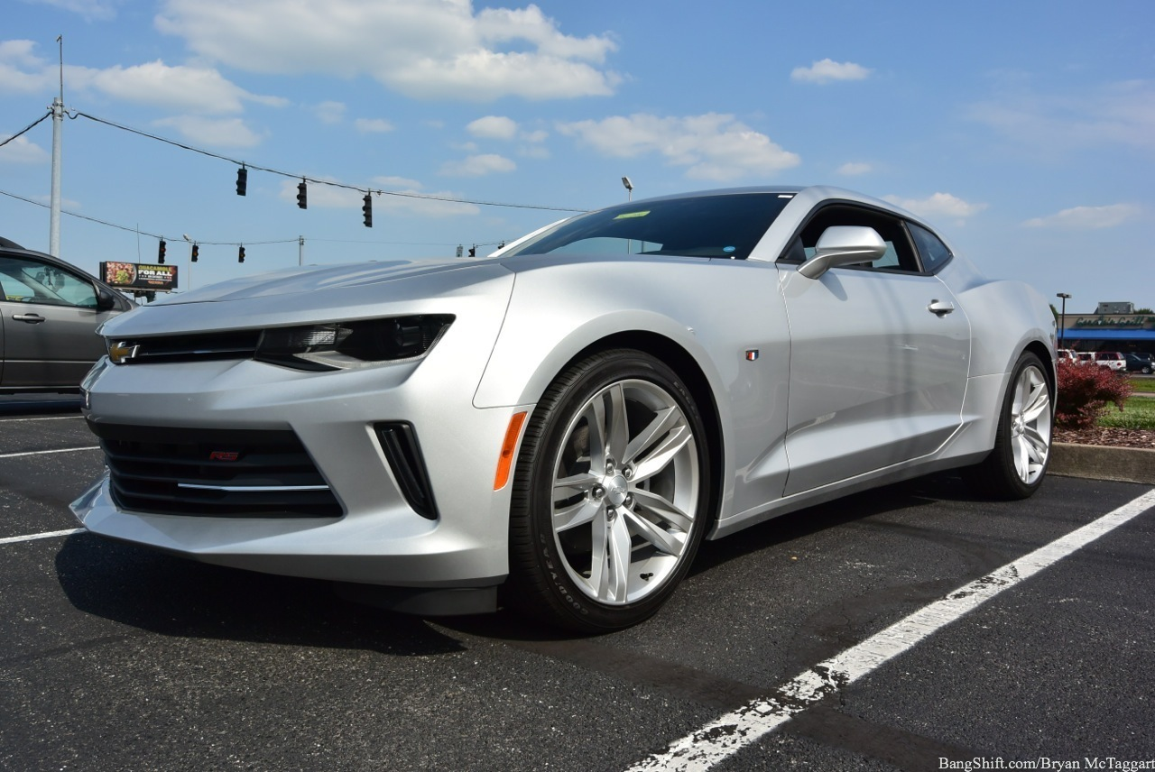 Quick Review: 2016 Chevrolet Camaro RS 2LT Four-Cylinder – How Does GM's Pony Car Stack Up With Only Half Of The Deck?