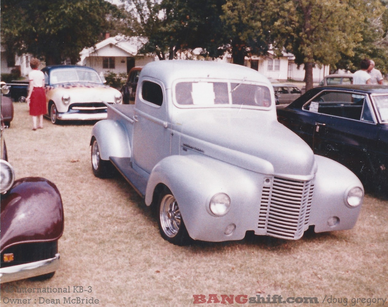 Hot Rod Time Machine: Great Photos From The 1980s At An Oklahoma Car Show – Fat Fenders Rule!
