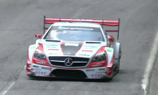 Morning Symphony: Mercedes Carlsson SLK 340 – Tease Your Ears With The Sound Of A Judd V8 At Full Fury!
