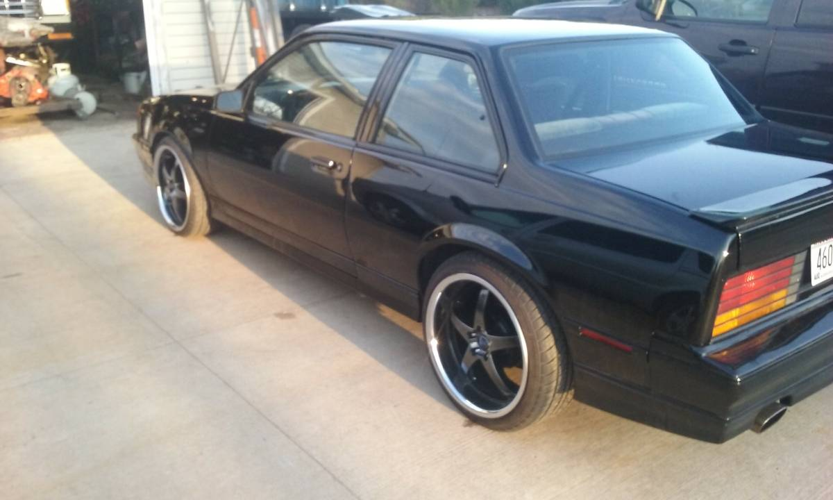 Bangshift Com Pro Commuter Perfection This Supercharged 3 8l Swapped 1987 Chevrolet Cavalier