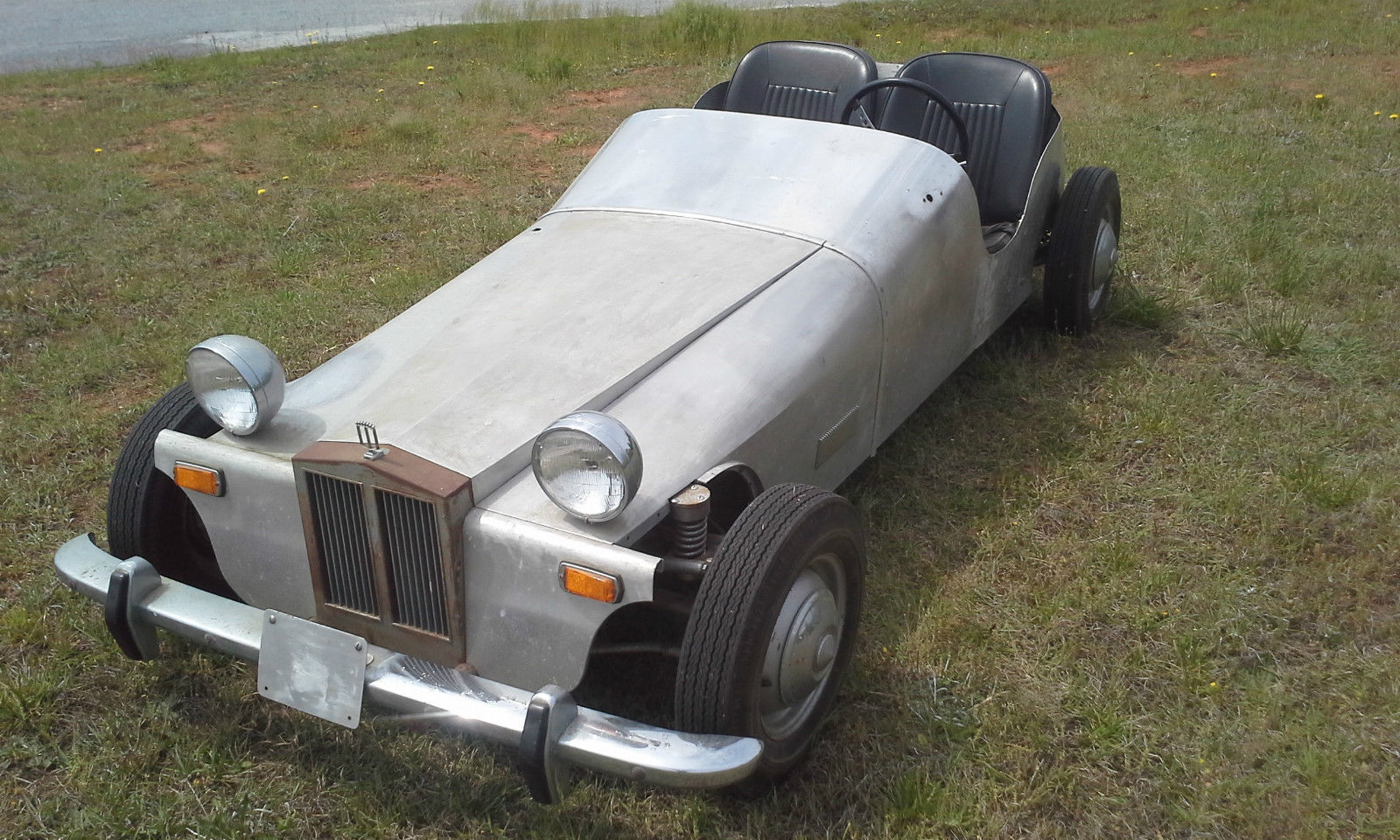 eBay Find: This Homebuilt, Cushman Powered Car Looks Like A Project Right Out Of The 1960s!