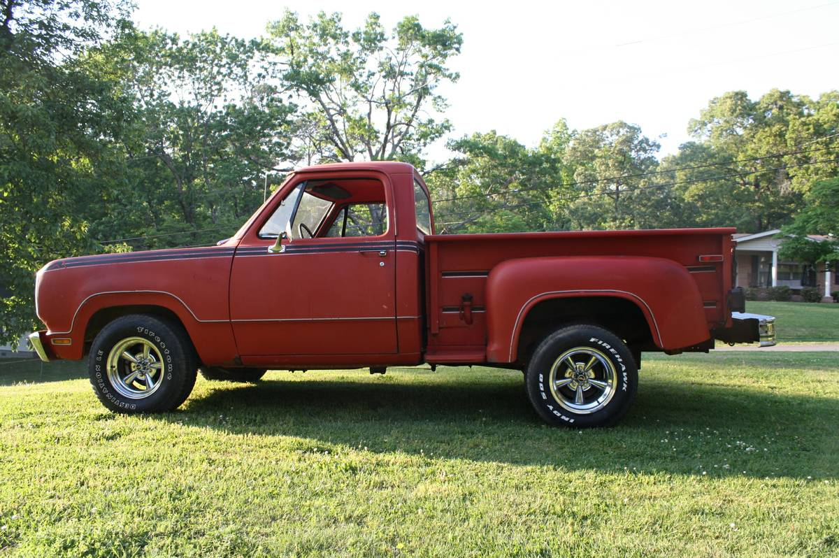 Rough Start This 1978 Dodge D 100 Was The Hot Ticket 1949 D100 Truck In