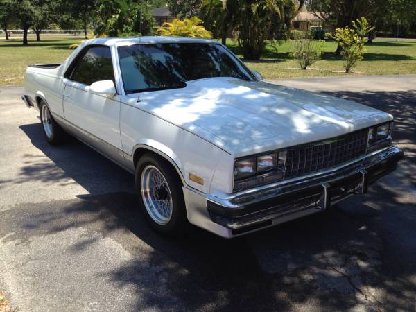 Take Our Money! This Grand National Swapped 1985 El Camino Is 1980s Perfection