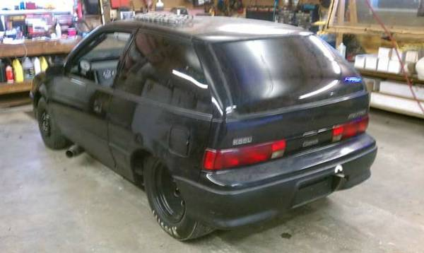 Bangshift Com With This V8 Swapped Geo Metro You Can Get To Know Your Self Preservation Instinct Bangshift Com