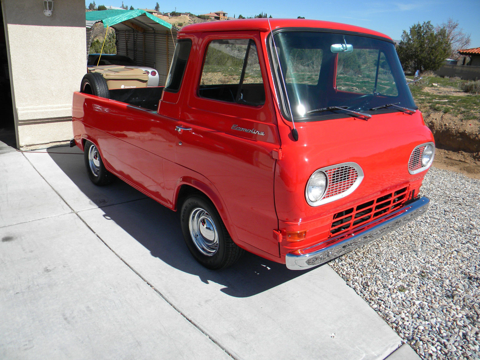 BangShift com eBay Find: This 1965 Ford Econoline Pickup Is