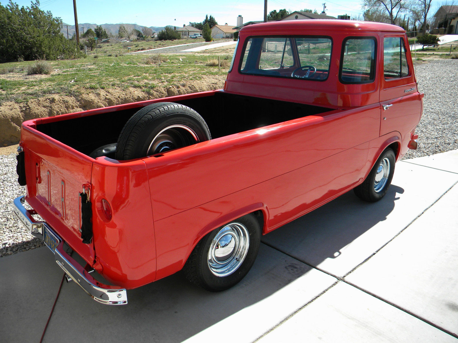 ebay find this 1965 ford econoline pickup is as sweet as they get who wants a. Black Bedroom Furniture Sets. Home Design Ideas