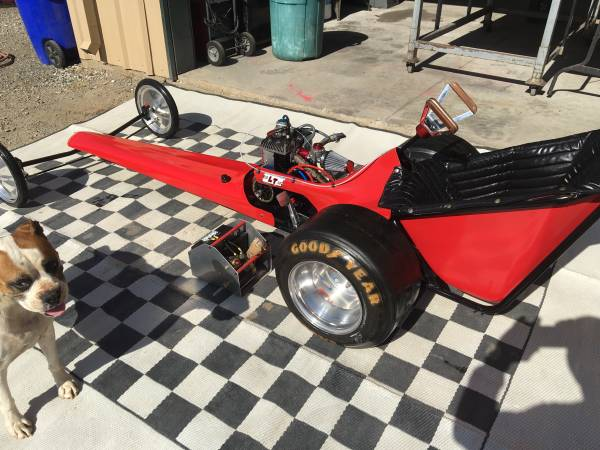 BangShift com 1969 Mickey Thompson Mini Dragster For Sale: Jr