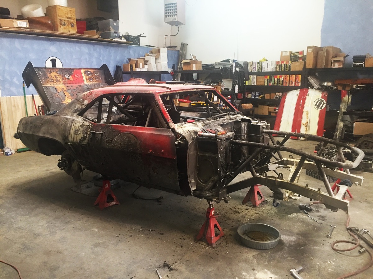 Big red camaro for Big red racing