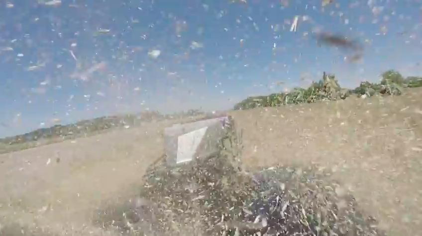 Watch A Blown Hemi Powered Impala Grudge Car Rip Through A Wheat Field While Racing Kye Kelly