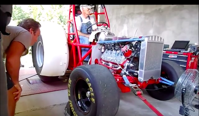 Watch The Awesome 8Ncredible Land Speed Tractor Make A Dyno Pull – Shooting For 100mph This Weekend At Ohio Mile!