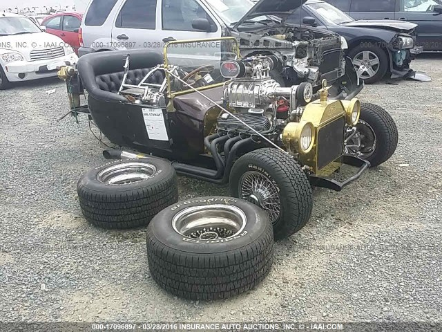 Wrecked Bucket: This Salvage Auction T-Bucket May Be Worth It For The Motor Alone!