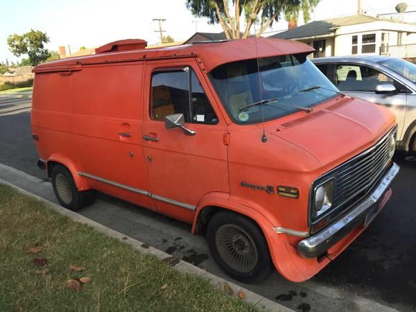 chevy van shorty g10 1974 survivor -4