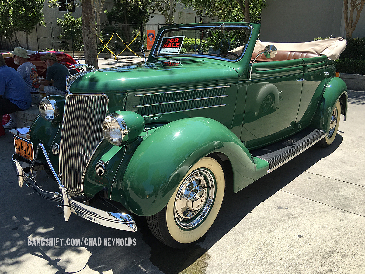 LA Roadsters Show Coverage: Inside Cars, Outside Cars, and More Of The Best SoCal Steel Around