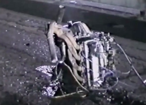 Incredible Video: Watch This Aussie Falcon Wreck And The Insane Destruction Left Behind – Driver OK, Motor Ripped Out!