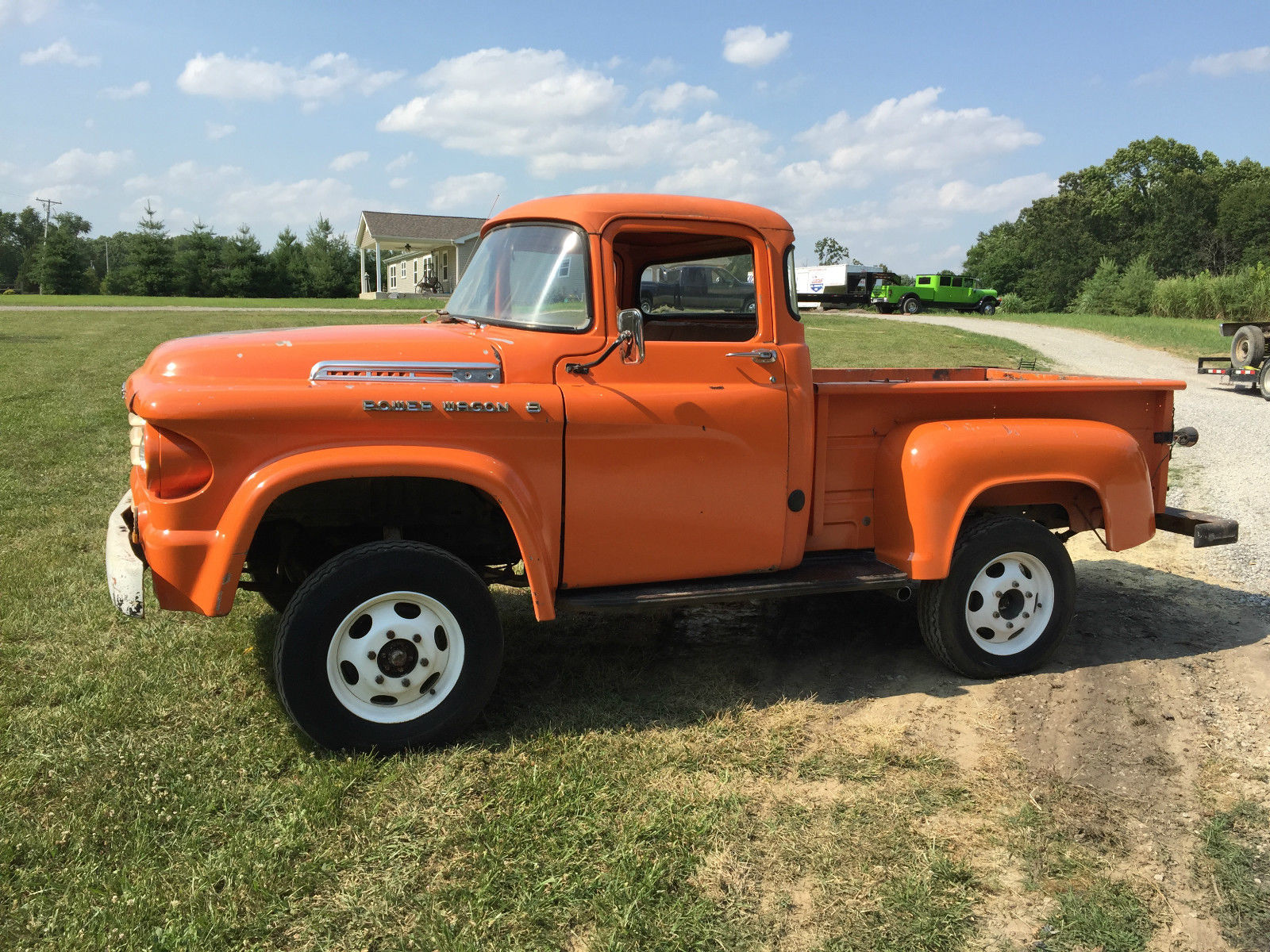 This 1958 Dodge Power Wagon Is Awesome In Orange – A Perfectly Worn In Rig