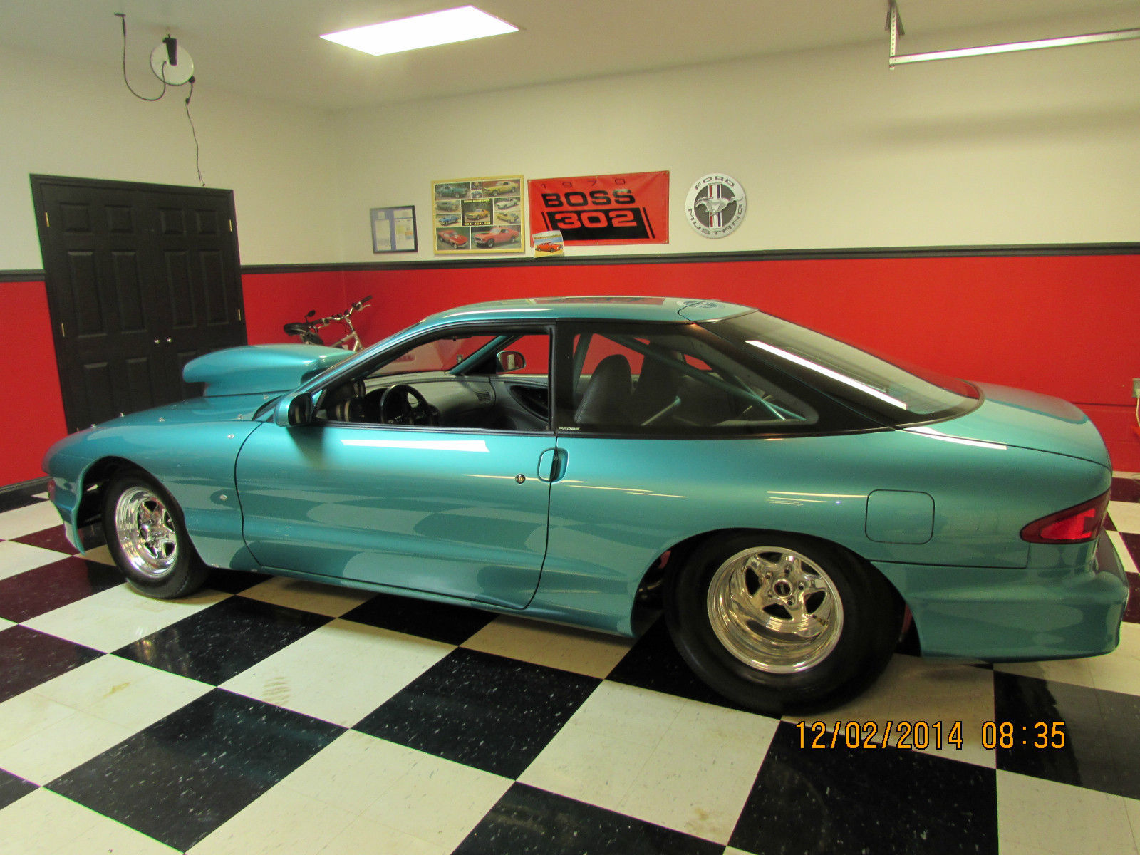 Bangshift Com Pro Street Rescue This 1993 Ford Probe Has