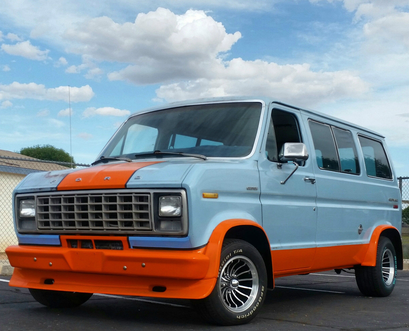 Proof That The Gulf Livery Is Cool On EVERYTHING This 1978 E Series Van