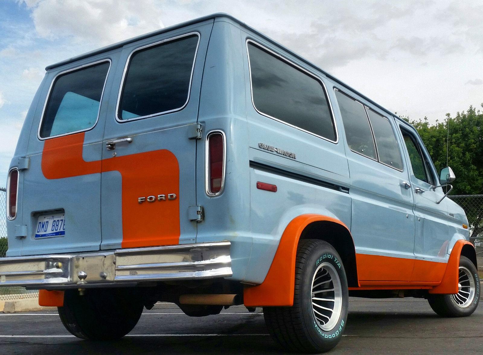 BangShift com 1978 E-Series Van
