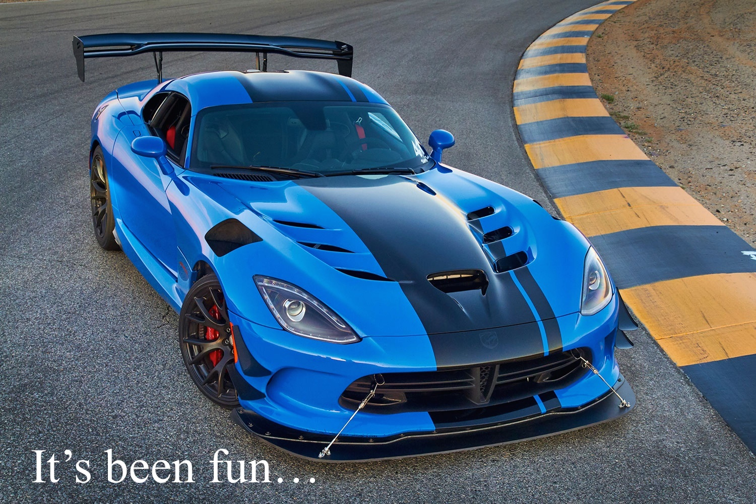 Dodge Viper 2017 Blue >> Bangshift Com Confirmed The Dodge Viper Will Be Dead By The End Of