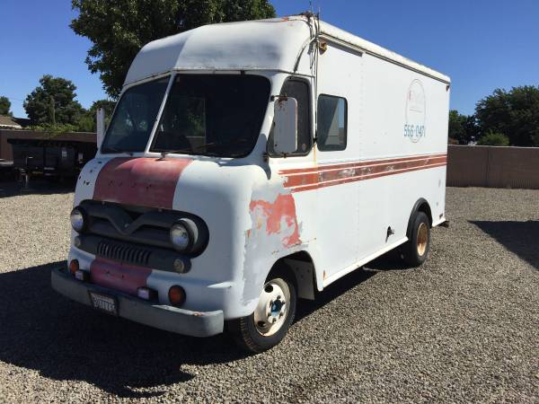 Did You Realize That Old Step Vans Are Cheap? Check Out This 1960 Ford