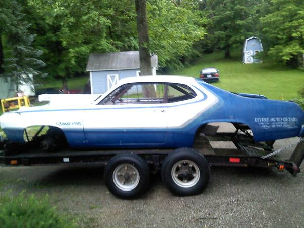 can you help figure out the history of this plymouth duster pro stock drag car. Black Bedroom Furniture Sets. Home Design Ideas